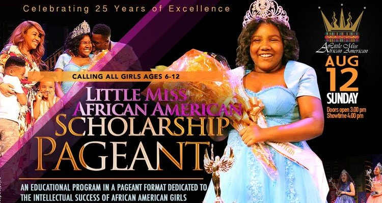 2018 Little Miss African American Scholarship Pageant