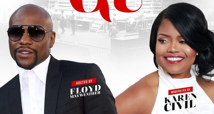 Guns Down, Gloves Up with Floyd Mayweather and Karen Civil