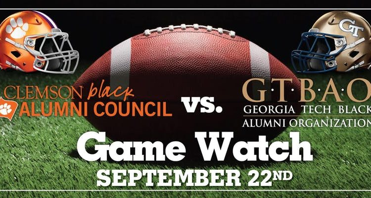 Game Watch – Clemson Black Alumni Council & GT Black Alumni