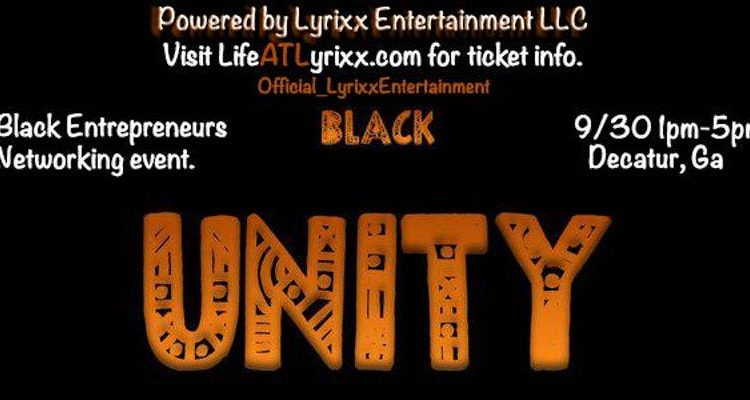Black Unity Networking Event